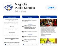 New branded app for Magnolia Public Schools has launched!